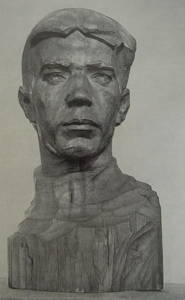 клюев портрет тракториста