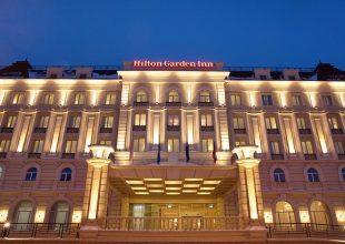6:00-11:00. Гостиница Hilton Garden Inn Ulyanovsk