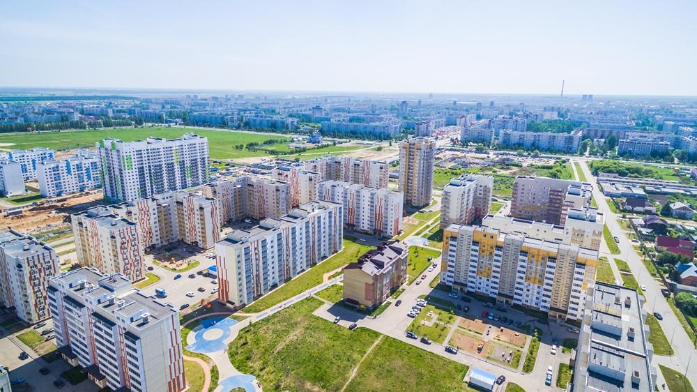 микрорайон Центральный в Заволжском районе
