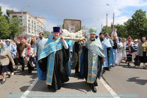 14-й Крестный ход с Чудотворной Казанской-Жадовской иконой Божией матери