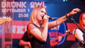 """Концерт группы """"Drunk Owl"""" в Yankeebar&Grill @    ТРЦ """"Аквамолл"""" ( Московское шоссе, 108)"""