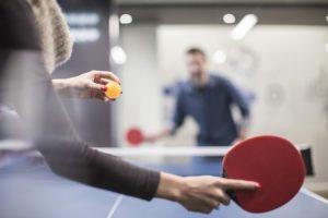 Соревнования по настольному теннису среди работников предприятий и организаций города @ в спортивном зале УлГТУ (ул. Северный Венец, 32)