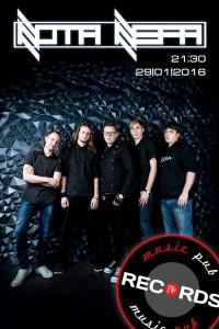 "Концерг группы ""NOTA NEFA"" @ Records Music Pub (ул. Гончарова, 48)"