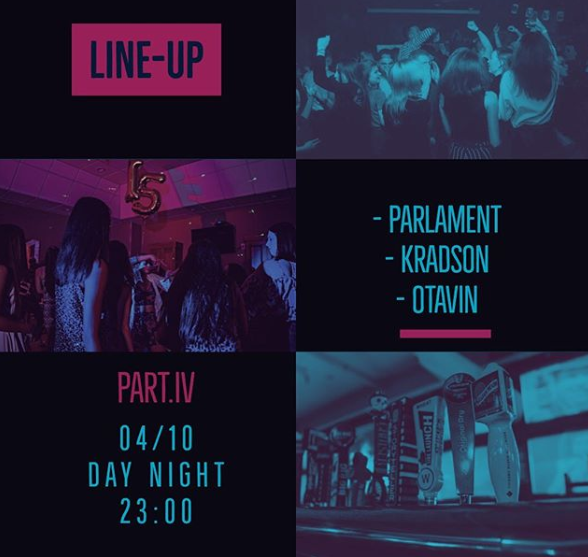 Line-up в Day&Night @ Day&Night