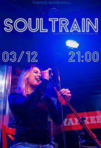 """Выступление группы """"SOULTRAIN"""" @ YANKEE Bar & Grill (ТРЦ """"Аквамолл"""", Московское шоссе, д. 108, 1 этаж)"""