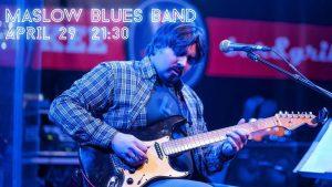 """Выступление группы """"Maslow Blues Band"""" @ YANKEE Bar & Grill (ТРЦ """"Аквамолл"""", Московское шоссе, д. 108, 1 этаж)"""
