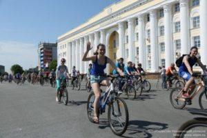 Всероссийский велопарад @ Соборная площадь