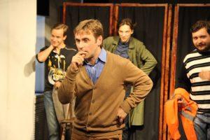 Выступление  Молодёжного театра с Шоу актёрских импровизаций @ «Records Music Pub» (ул. Гончарова, 48)