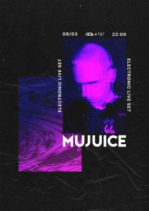 Лайв-программа электронного проекта Mujuice @ клуб ОСЬ (улица Гончарова, 21А/10)