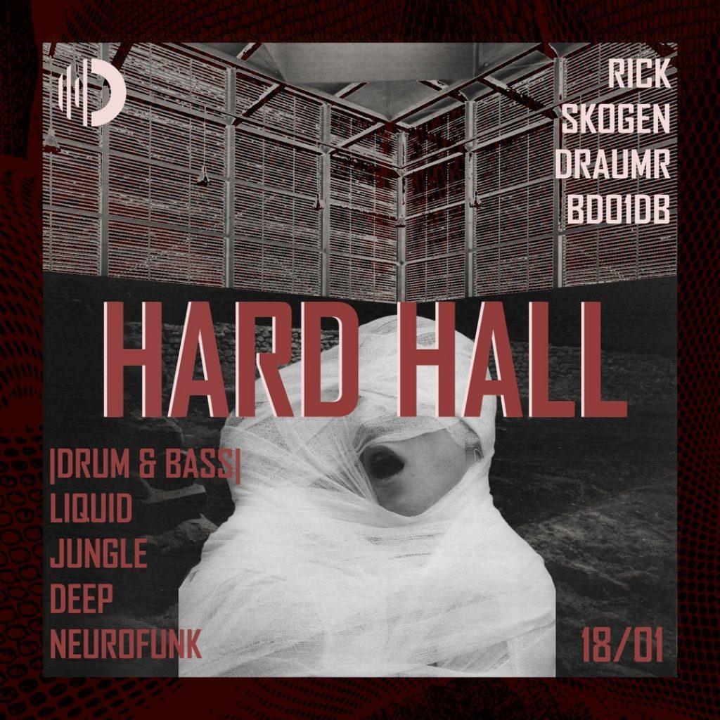 Вечеринка серииHard Hall в клубе Ось