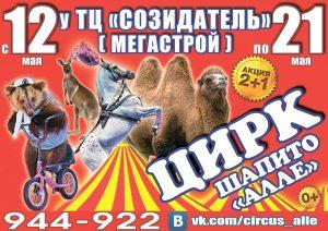 """Цирк-шапито """"Алле"""" @ У ТК """"Созидатель"""" (""""Мегастрой"""")"""